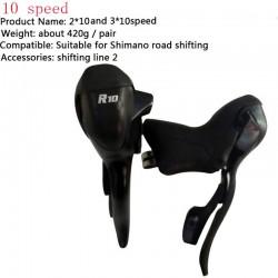 10 Speed Racefiets Shifters 30 Speed Siamese Dip Mountain Goedkope Fiets Derailleurs Onderdelen Duurzaam Fiets Derailleur Groepset R10