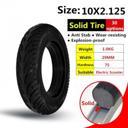 10x2.125 Electric Scooter Solid Tire 10 inch 10*2.125 Accessory for Self balancing Electric Scooter