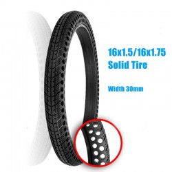 16*1.50 Non-pneumatic Solid Tire 16*1.75 Honeycomb Solid Tire Explosion-Proof Tires