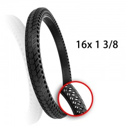 16inch 16*1 3/8 Solid Tire Honeycomb Hole Tyre Solid Bicycle Tyre