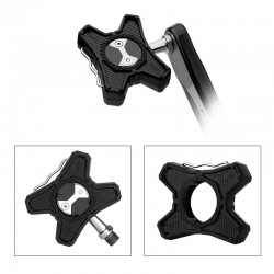 1 Paar Abs Fiets Pedalen Platte Beugel Converter Voor Speedplay Zero Pedalen Adapter Fietsen Racefiets Pedaal Fiets Pedaal