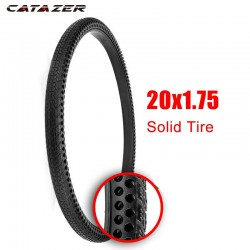 20*1.75 Non Inflation Bicycle Tire 20 In Explosion-Proof MTB Bike Solid Tyre