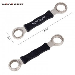 4 In 1 Fiets Trapas Reparatie Tools As Tool Bike Wrench Revisie Tool Spanner Rvs As Fiets Tool set