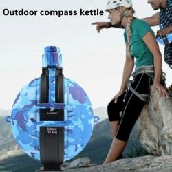 580Ml Outdoor Water Flessen Bag Sport Camouflage Draagbare Water Fles Houder Grote Capaciteit Vouwfiets Water Fles