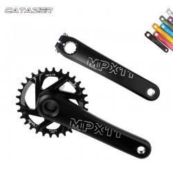 8/9/10/11/12 Speed 170/175Mm Mtb Bike Crankstel Aluminium Met Bsa Bodem bracket Mountain Fiets Crankstel Compatibel Sram