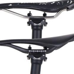 Carbon Fiber Zadelpen Fiets Zadelpen Ud Matt 27.2/31.6*300/350/400 Mm Fiets Onderdelen Road / Mtb fiets Reverse Zadelpen 135G