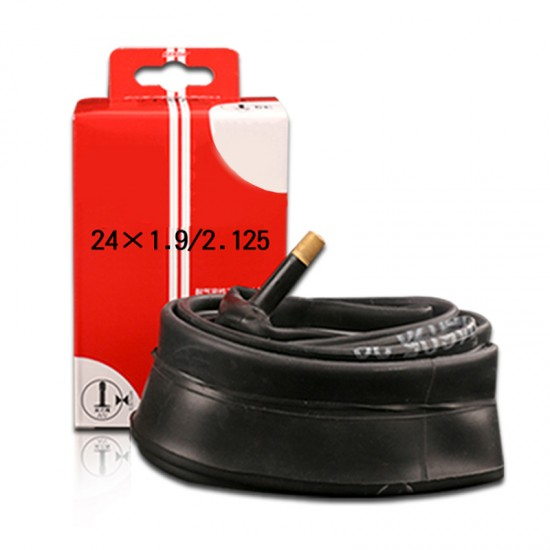 """Catazer 1Pcs 24"""" *1.9/2.12 24*1 3/8 24* Mountain Bikes Inner Tube Bicycle Tire Cycling Accessories AV Schrader Valve"""