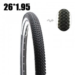 Catazer 26*1.95 30TPI MTB Mountain Bike Cross Country bike Hippopotamus stab-resistant Tire