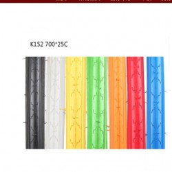 Catazer 700C*25C Road Bike Stab Proof Bicycle Tires Colorful Fixed Gear Tyre 7 Color Bicycle Accessories Commuter Bike