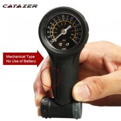 Catazer Bike Tire Gauge Schrader Presta Kleppen Luchtdrukmeter 160 Psi Barometer Fietsen Bandenspanning Meetinstrument