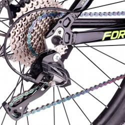 Catazer Fietsketting 9/10/11 Snelheid Met Connector Master Links Holle Mtb Bike Chain Gold Radiant Optioneel Tang
