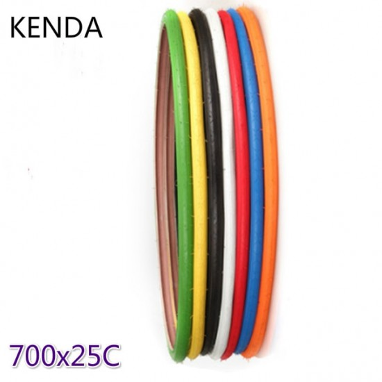 Colorful  700C*25C Road Bike Track Bicycle TireTires Fixed Gear Tyre 7 Colors
