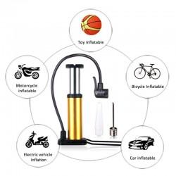 Draagbare Ultra-Light Mtb Bike Pomp Draagbare Fietsen Inflator Luchtpomp Bike Floor Pomp Voet Activated 18*10cm Bal Pomp