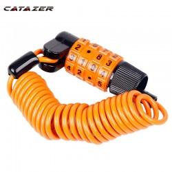 Fiets Combinatie Lock Draagbare 4 Cijfers Mtb Racefiets Lock Codes Verwisselbare Compact Size 1.2M Kabel Zinklegering Body
