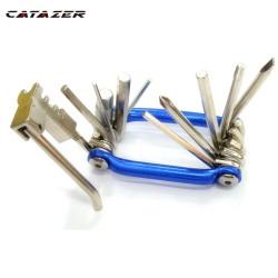 Fiets Gereedschap Repareren Set Fiets Reparatie Tool Kit Wrench Schroevendraaier Keten Carbon Staal Fiets Multifunctionele Tool Mtb Gereedschap