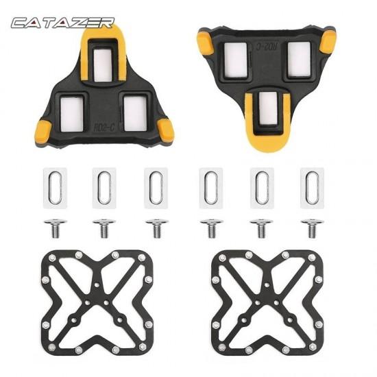 Fiets Pedaal Adapter Platform Cycling Aluminium Clipless Voor Shimano Spd Fiets Accessoires Fiets Pedalen