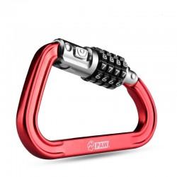 Fietsen Fietshelm Lock 4 Cijfercombinatie Lock Kabel Voor Motorhelmen Jas Bagage Security Pin Vergrendeling Keten