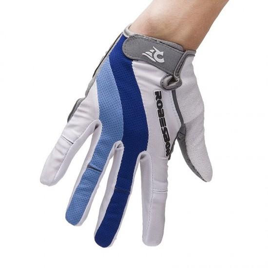 Fietsen Handschoenen Volledige Vinger Anti-Shock Fiets Handschoen Buitenshuis Sport Lente Herfst Fiets Lange Handschoenen