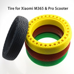 For Xiaomi M365 Tyre Solid Hole Tires Electric Scooter Skateboard Shock Absorber Non-Pneumatic Tyre Rubber Wheels For M365 Pro
