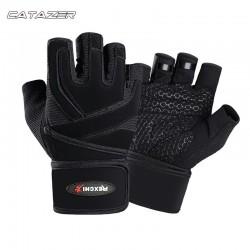 Half Vinger Fiets Handschoenen Mannen Fitness Fitness Polsen Outdoor Sport Oefening Ademend Antislip Handschoenen
