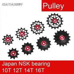 Katrol Wiel Gear Gids Roller Jockey 10T 12T 14T 16T Lager Road Mtb Bike Achterderailleur voor Gx XX1 Voor Shimano/M9000