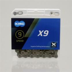 Kcm Bike Chain X8 X9 X10 X11 X12 Fietsketting 8/9/10/11/12 Speed Road Mtb keten Lichtgewicht 116L Voor Shimano/Campagnolo/Sram