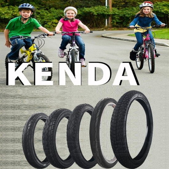 Kenda bicycle tyre 14/16/18/20/22 inch 1.5/1.75/1.95 child bike tyre For 406 Wheels ring