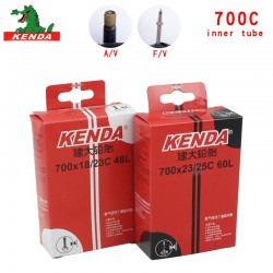 Kenda mountain Bike Road bicycle tire 700 *18 23 25 28 32 35 43 45C bicycle parts AV FV Cycling butyl rubber Bicycle Inner Tube