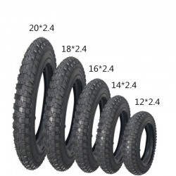 Kids bike tyre children bicycle tire 12/14/16/18/20 x2. 4 bicycle parts