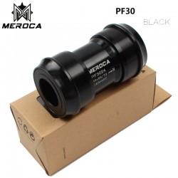 MEROCA BB30 PF30 поворотный шатун для SHIMANO, цепь 24 мм 22 мм, керамическая ось подшипника, нажмите на нижний кронштейн, велосипедная часть