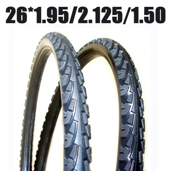 MTB Tire 26*1.95 26*2.125 26*1.50 1 Pcs Tire Fixed Inflation Solid Tyre Bicycle Gear Solid for Mountain Bike