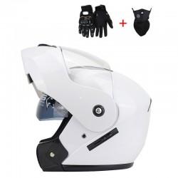 Motorhelmen Hoge Kwaliteit Flip Up Helm Abs Full Face Motorhelmen Racing Helm Dot Goedgekeurd