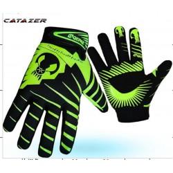 Mtb Road Fiets Ademend Volledige Vinger Sport Skull Handschoenen Voor Fietsen Fiets Motorrijden Hand Bone Handschoenen