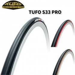 Top TUFO S33 PRO road bike tubular tire 115-175psi bicycle tires fixed gear tyre with professional gluing tape Double-sided 260g