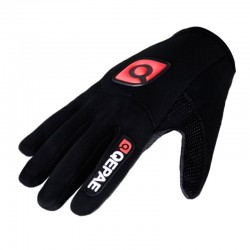 Unisex Shockproof Fietsen Handschoenen Volledige Vinger Handschoenen Anti Slip Fiets Handschoenen Met Gel Ademend Sport Mtb Racefiets Handschoenen