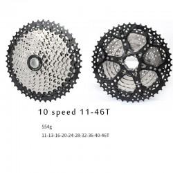 10Speed Freewheel Mtb Mountainbike Fiets Cassette Vliegwiel 11-46T Voor Shimano Sram