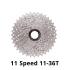 Racefiets Vrijloop 11-36T Fiets Vliegwiel Staal 11S Speed Cassette vrijloop Voor Shimano Sram